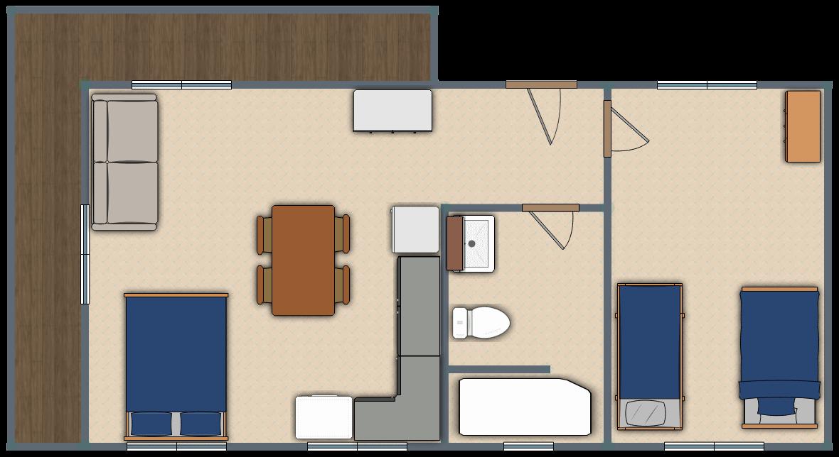 Family Villa Floor Plan - Best Family Villas in Australia - Sunrise Family Villa